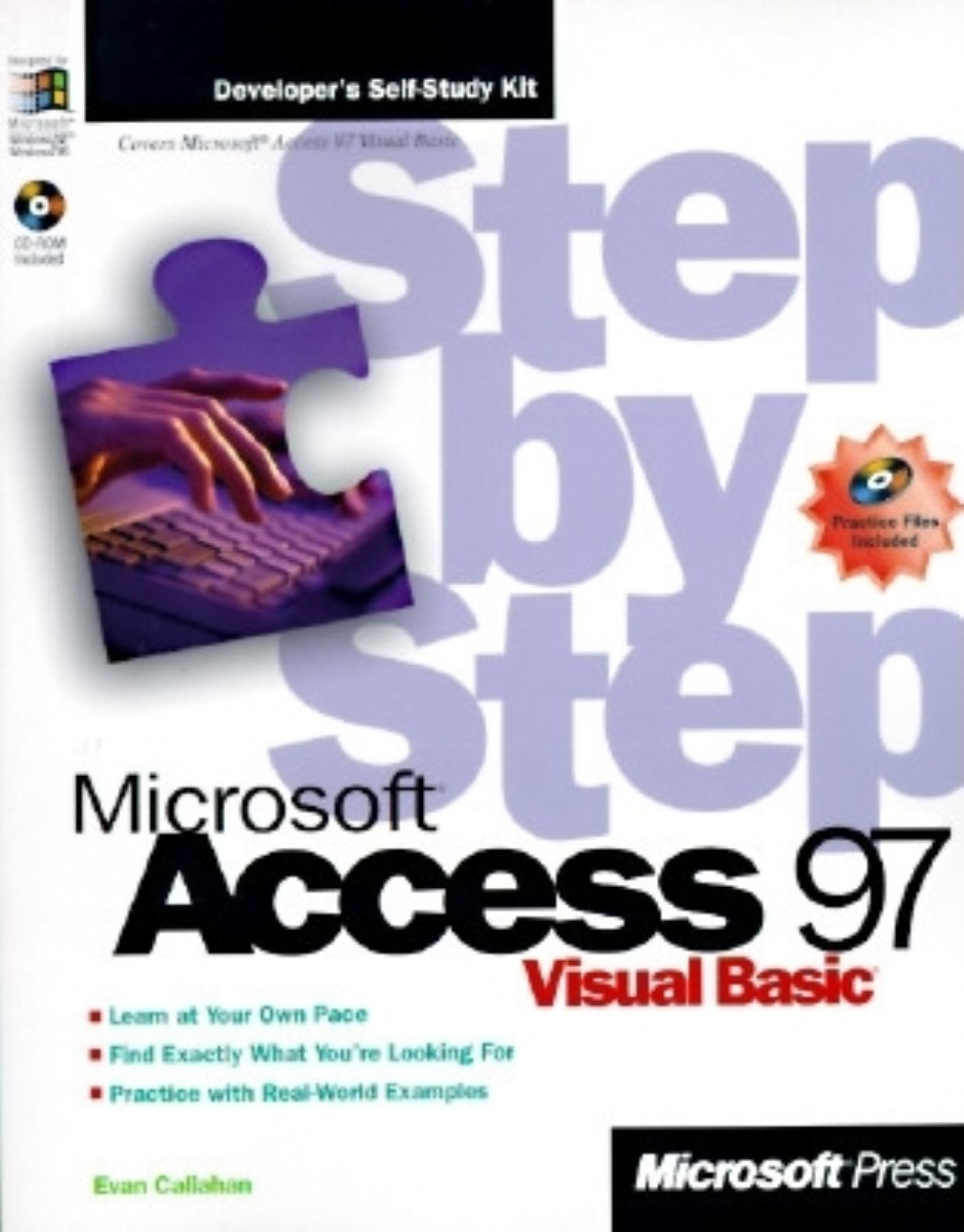 Microsoft Access 97 Visual Basic Step by Step (Step by Step (Microsoft)) by Callahan (1-Feb-1997) Paperback