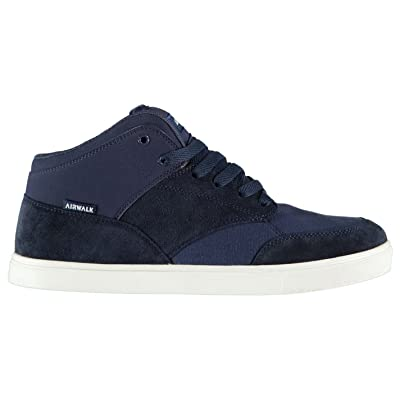 813491a3dc Original Shoes Airwalk coupe-circuits Mid Chaussures de skate Homme Bleu  marine Skateboarding Baskets Sneakers