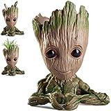 KOBWA Baby Groot Flowerpot Guardians of The Galaxy, Groot Figures Plant Pot Pen Pot Pen Holder, Best Gifts for Kids