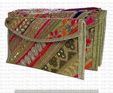 Indian Wholesale 20 pc lot Bulk Mandala Hand Bag Ethnic Clutches Purse  Shoulder Jhola Bags Cotton e67669c071a88