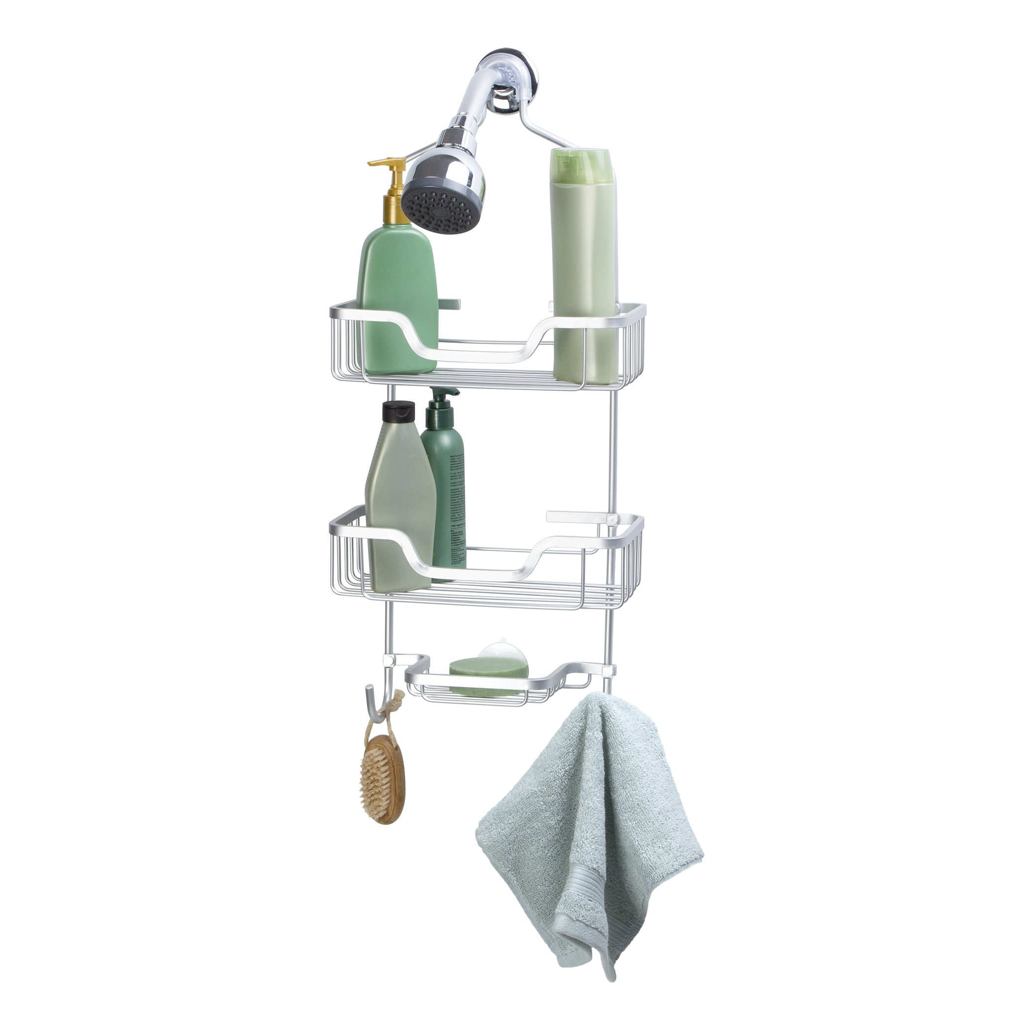 Richards Homewares Rust Proof Aluminum Bristol Shower Caddy