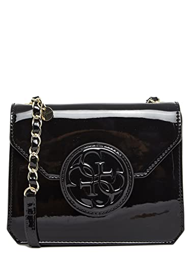 82ca02d7ae Guess Sac Bandouliere Amy Shine HWASHIP5421 Noir: Amazon.fr ...