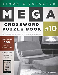 Simon u0026 Schuster Mega Crossword Puzzle Book #10  sc 1 st  Amazon.com & Simon u0026 Schuster Mega Crossword Puzzle Book #16 (Simon u0026 Schuster ... 25forcollege.com