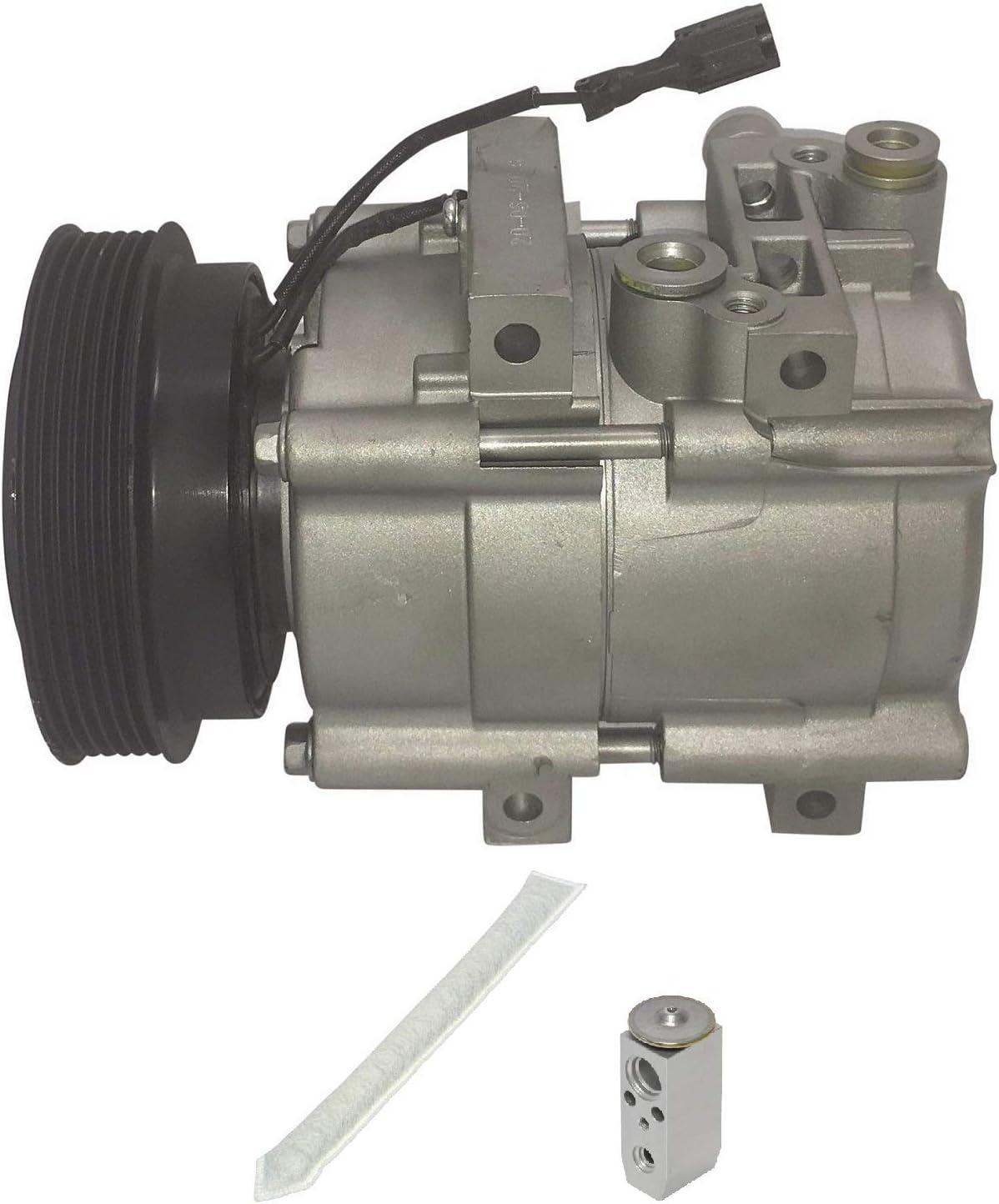 RYC Remanufactured AC Compressor Kit KT E008