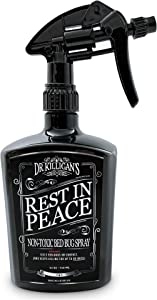 Dr. Killigan's Rest in Peace Non Toxic Bed Bug Spray | Indoor Natural Bedbug Insect Control Treatment & Protector | Organic Essential Oil Repellent | Home, Mattress, Baby, Eco & Pet Safe (24 oz)