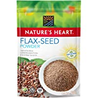 Nature's Heart Superfood Orgánico Semillas de Linaza Molidas, 100 g