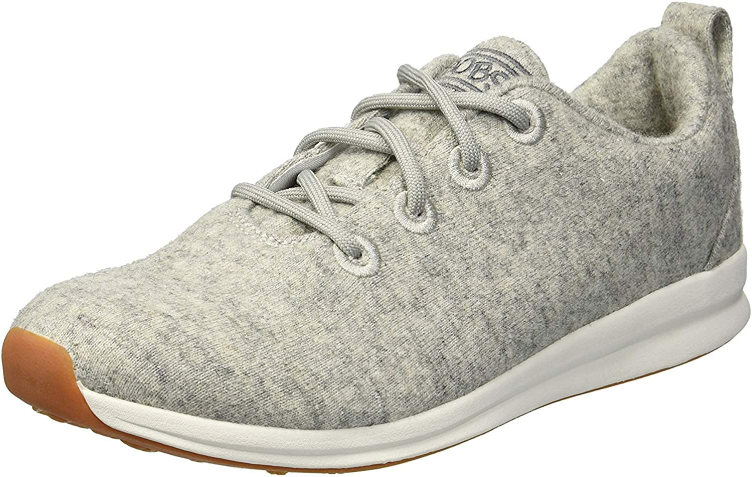 Skechers Women's Bobs Phresh-Lil Flash. Boiled Wool Oxford W Memory Foam Sneaker