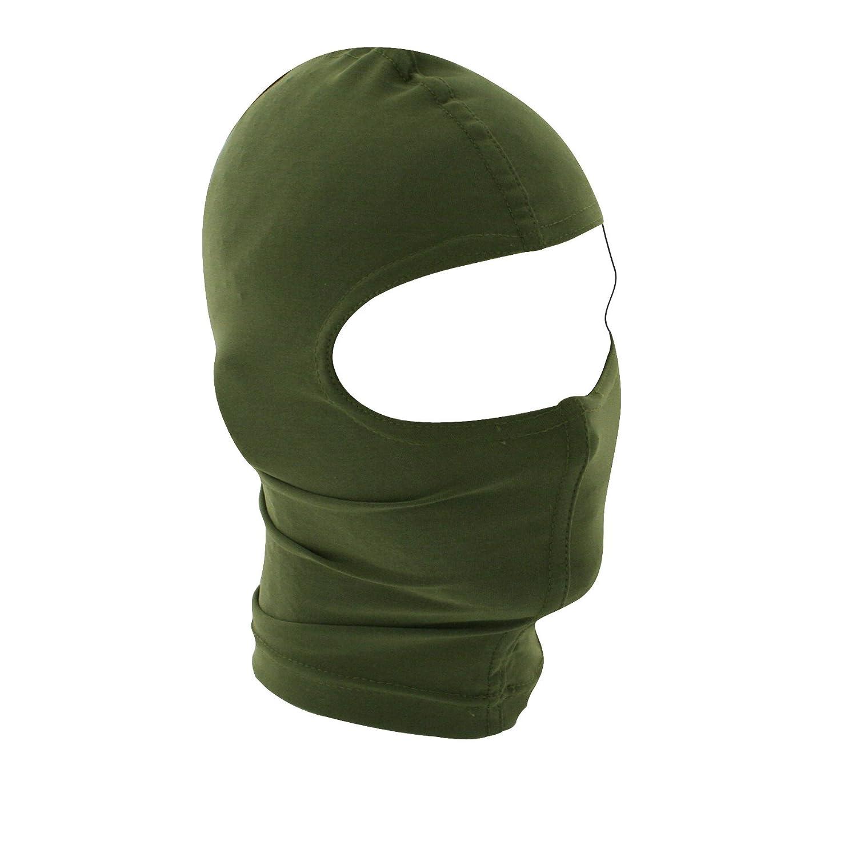 Amazon.com: ZANheadgear Black Nylon Balaclava - Cold Weather Face ...
