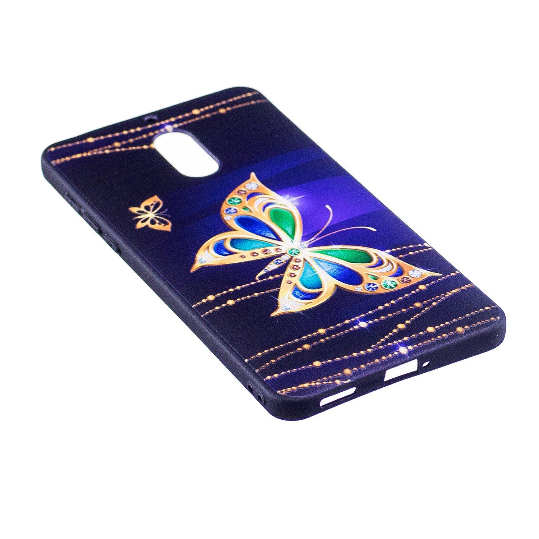 HUDDU Compatible for Schutzh/ülle Nokia 6 2017 Silikon Handy H/ülle Panda Bambus Muster Motiv Handyh/ülle 3D Karikatur Case Weich Soft Flexibel TPU Ultra D/ünn Back Cover Crystal Sto/ßfest Scratchproof