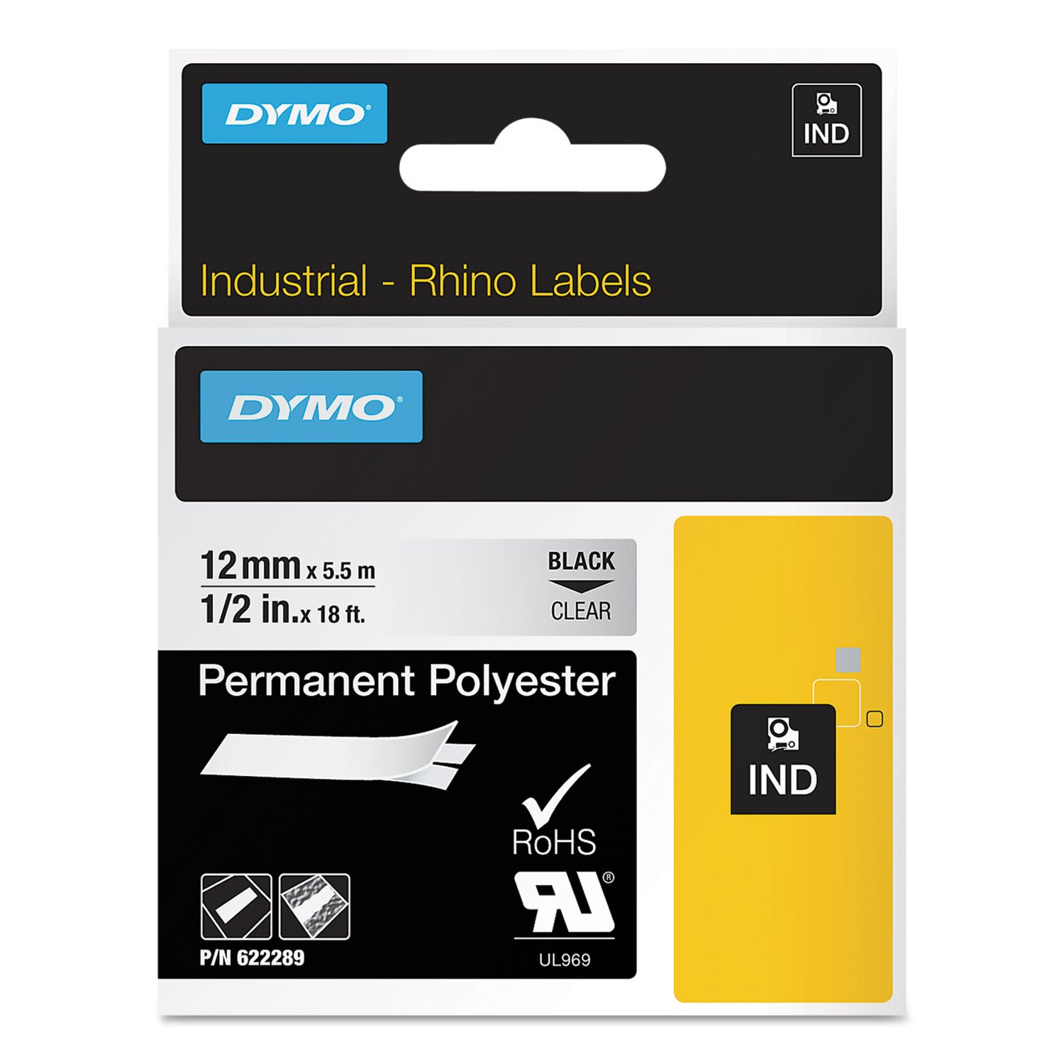 Dymo RhinoPro Thermal Label (622289) -