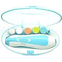 Baby Nail Trimmer,Upgraded Safe Baby Nail File- Electric Baby Nail Clipper for Newborn or Toddler Toes and Fingernails…