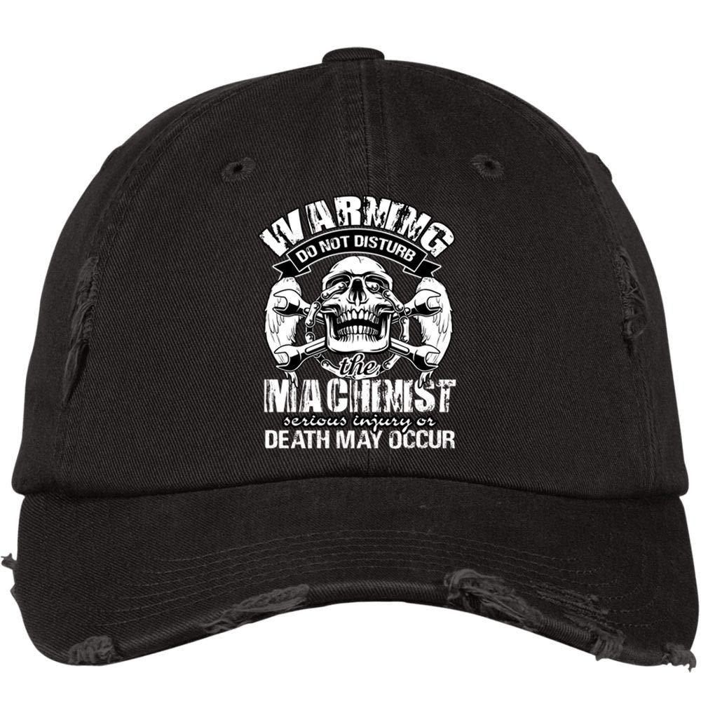 FLOSTORE Cool Machinist Hat Im A Machinist District Distressed Dad Cap