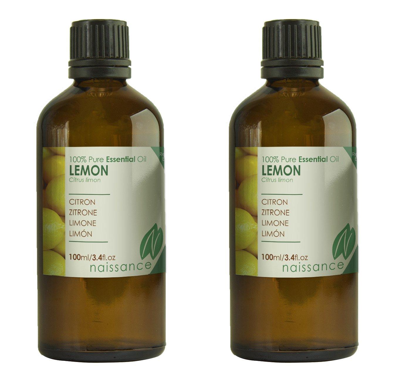 Naissance Limón - Aceite Esencial 100%Puro - 200ml (2x100ml)