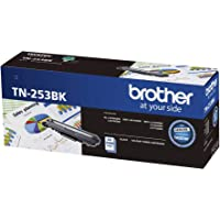 Brother Genuine TN253BK Printer Toner Cartridge, Black, Page Yield Up to 2500 Pages, (TN-253BK)