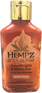 product image for Hempz Pumpkin Spice & Vanilla Chai Herbal Body Moisturizer 2.25oz Travel Size