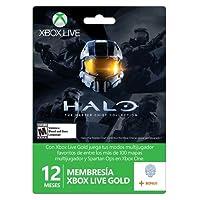 Membresia 12 Meses Xbox Live Gold Con DLC Halo - Standard Edition