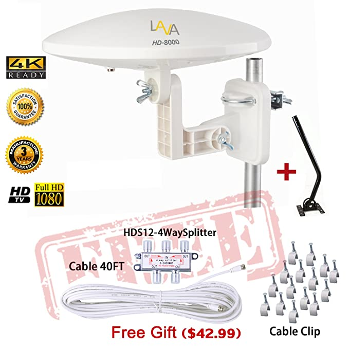 The 8 best rated omnidirectional outdoor tv antenna