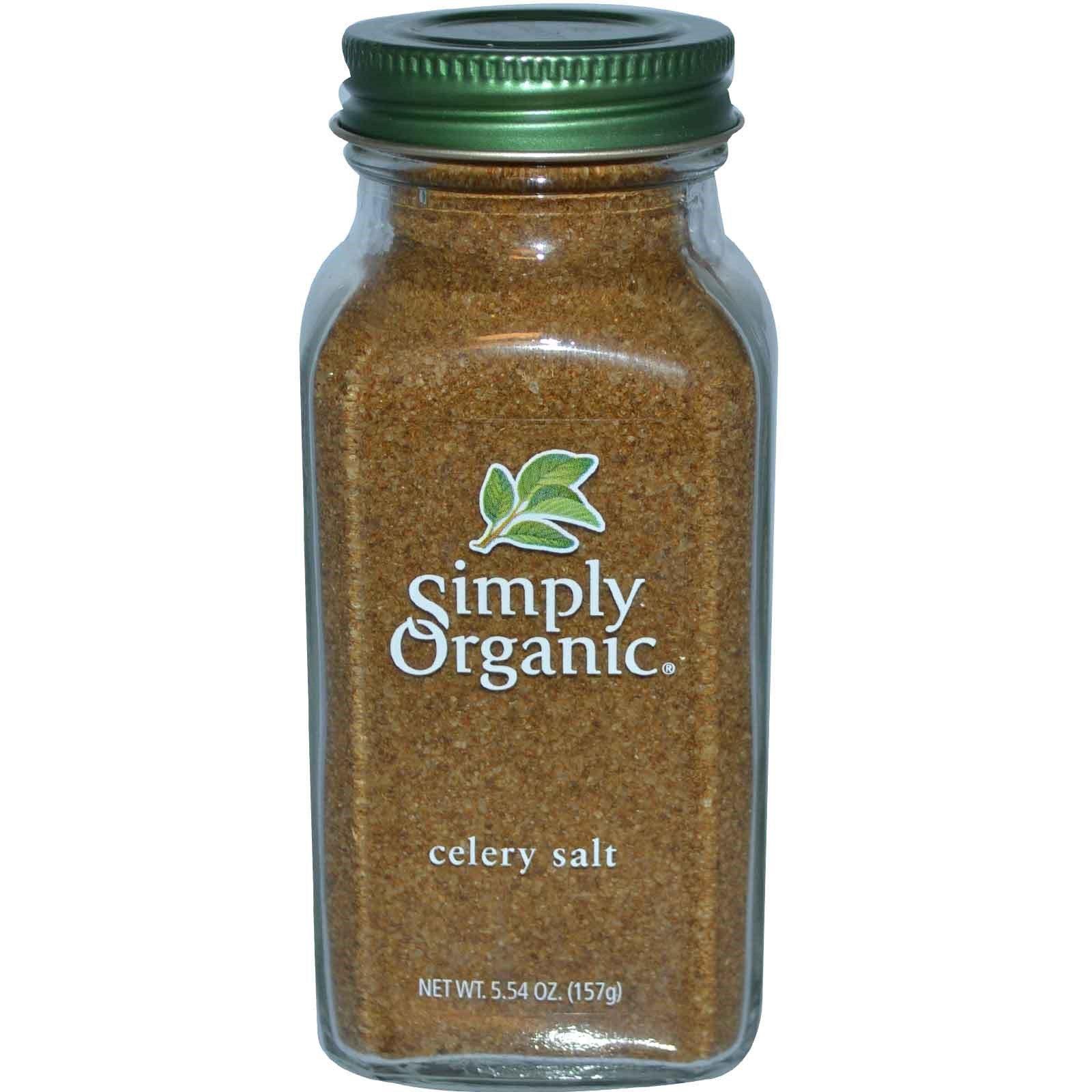 Simply Organic, Celery Salt, 5.54 oz(Pack of 2)