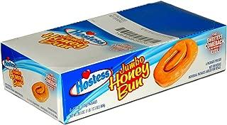 product image for 6 Pack Individually Wrapped Hostess Jumbo Honey Buns, 4.75 oz