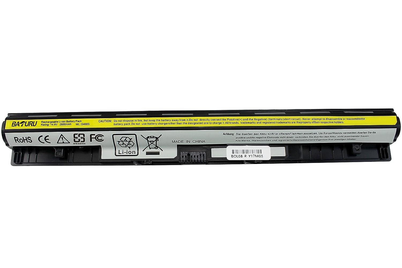 Baturu New L12m4a02 Notebook Battery For Lenovo Ideapad Keyboard Laptop G40 30 45 70 75 Z710 G400s G405s G510s G500s G505s S410p S510p G50 L12l4e01 L12m4e01