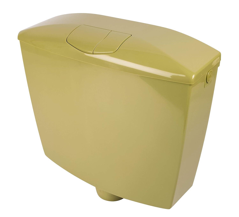 Aufputz-Sp/ülkasten mit Zwei-Mengen-Sp/ülung in Oliv-Moosgr/ün f/ür die Toiletten-Sp/ülung 29HB2728 Ferreol Calmwaters