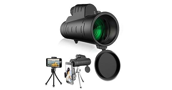 High magnification monocular single tube telescope handheld