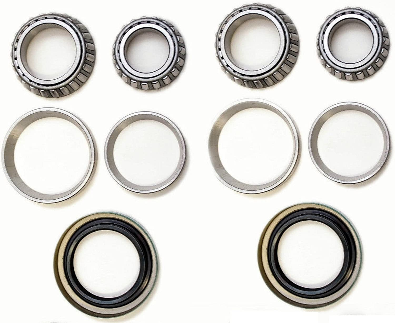 8USAUTO Front Left /& Right Wheel Bearing with Seal Kit Fit Chevrolet Corvair 1960 1961 1962 1963 1964