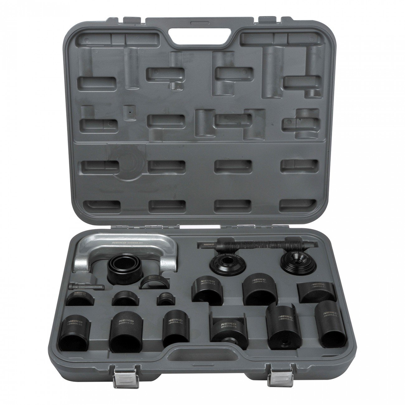 Neiko 20599A 4-In-1 Auto Ball Joint Service Tool Set, 21 Pieces | Various Adapters Included