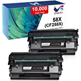 ONLYU Compatible Toner Cartridge Replacement for HP 58X CF258X 58A CF258A for HP M404n M404dn M404dw MFP M428dw M428fdn M428f