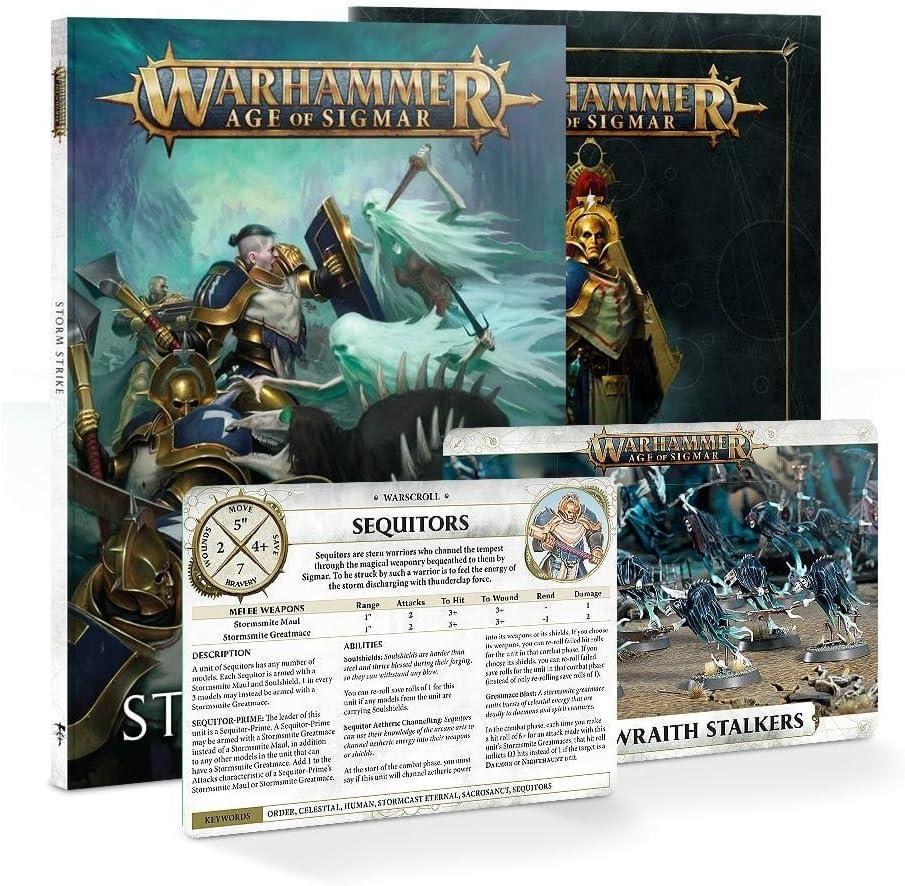 Warhammer reinos mortal edad de Sigmar 3 stormcast los eternos sequitors