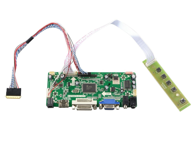 njytouch m. nt68676.2 a HDMI DVI VGAオーディオLCDコントローラボードfor ltn156at24-l01 ltn156at23-w01 1366 x 768   B01FAEKJHE