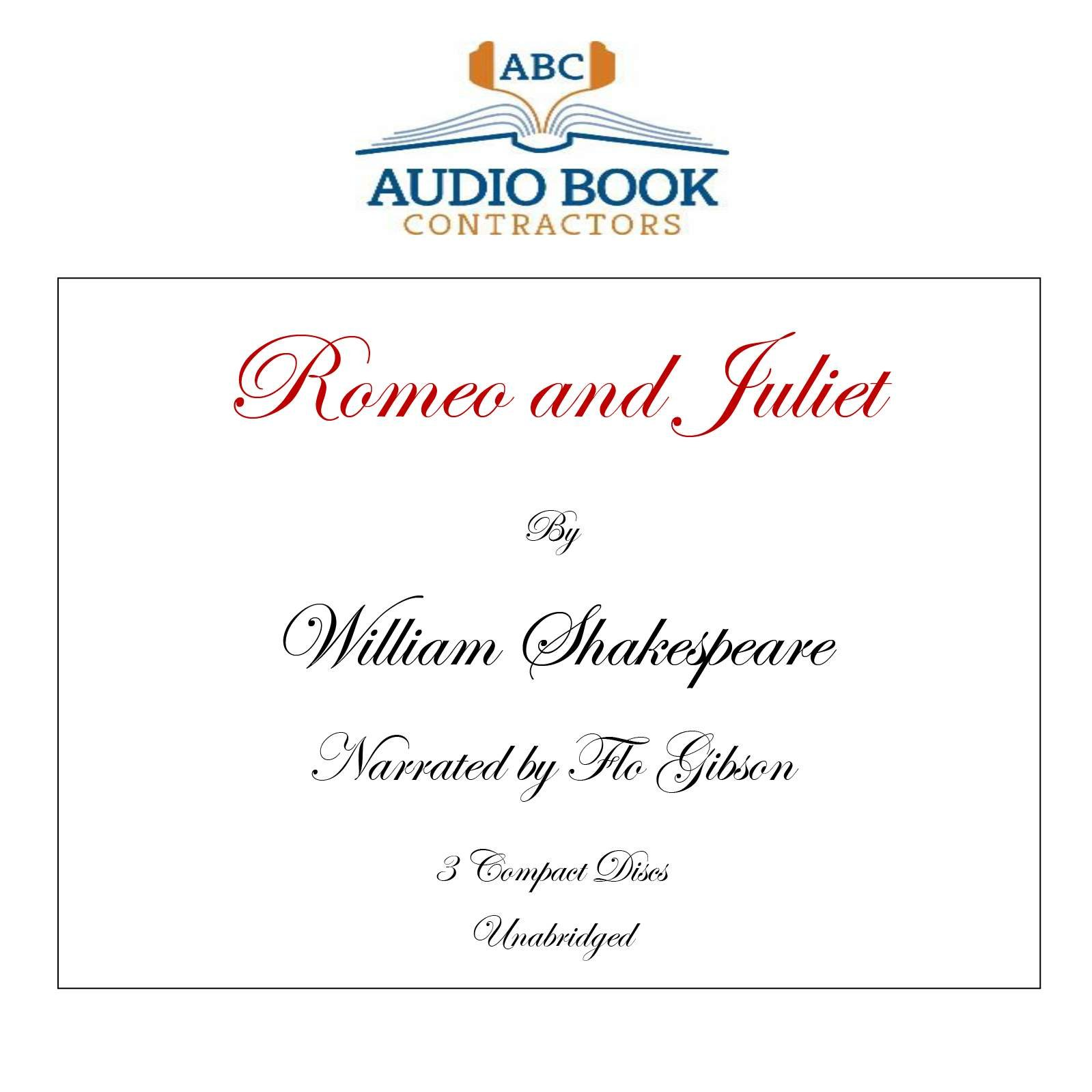 Romeo and Juliet (Classic Books on CD Collection) [UNABRIDGED]