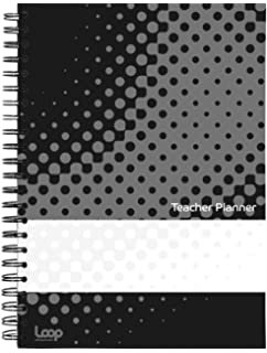 Stained Glass Pirongs A5 Retro Teachers Planner 8 Lesson