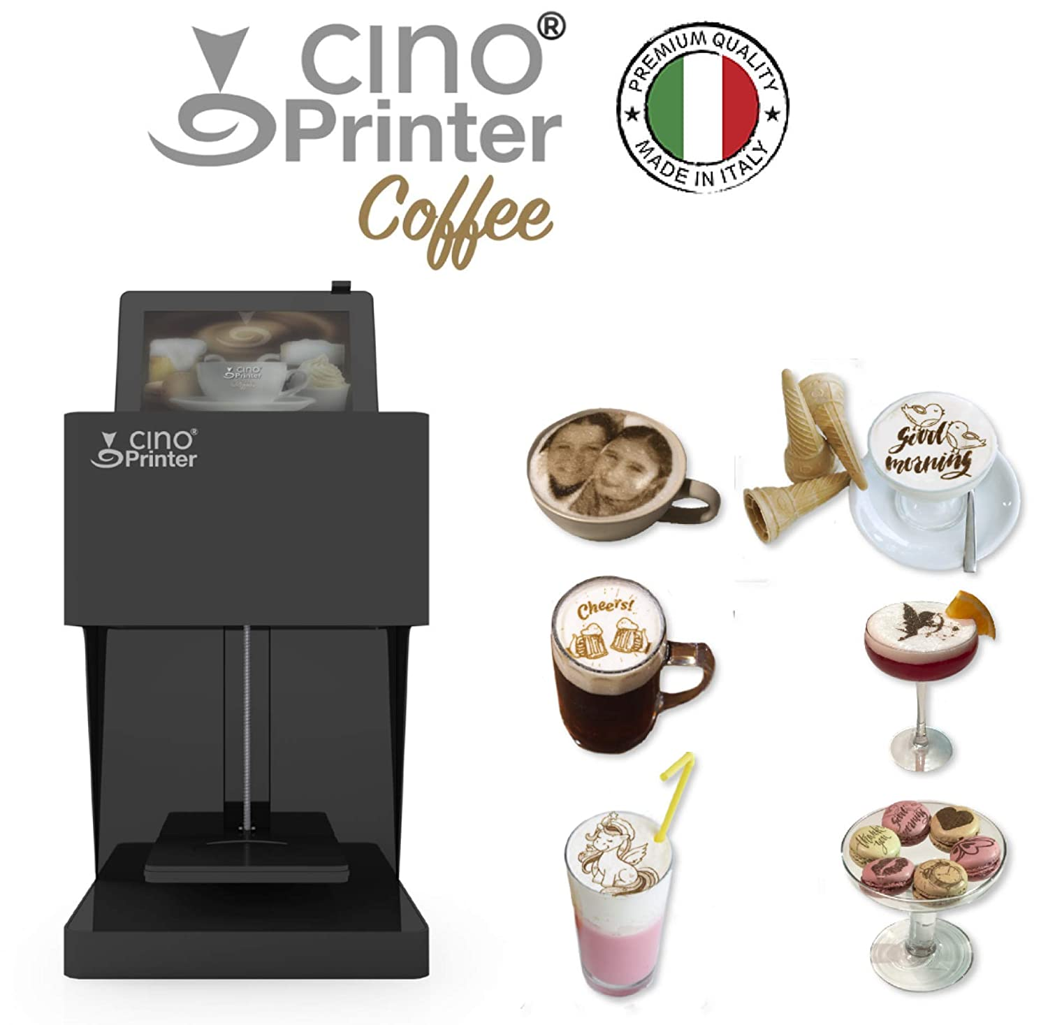 CINO PRINTER® Coffee: Amazon.es: Industria, empresas y ciencia