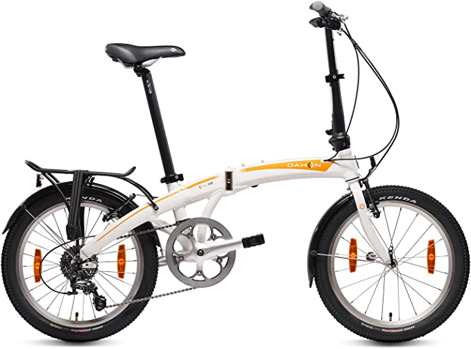 Dahon Mu D10 Bicicleta Plegable, Unisex Adulto, Blanco Cloud, 20 ...
