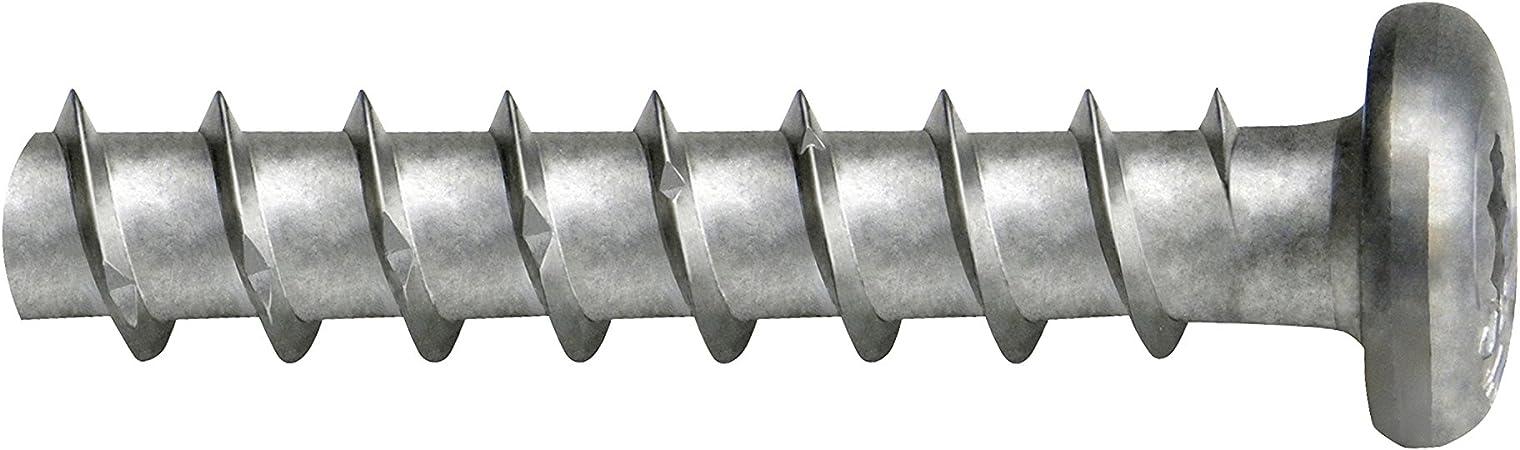 Envase de 100 ud. FISCHER 066948 Anclaje tornillo fijacion directa sobre hormigon FBS 6x80//25 P