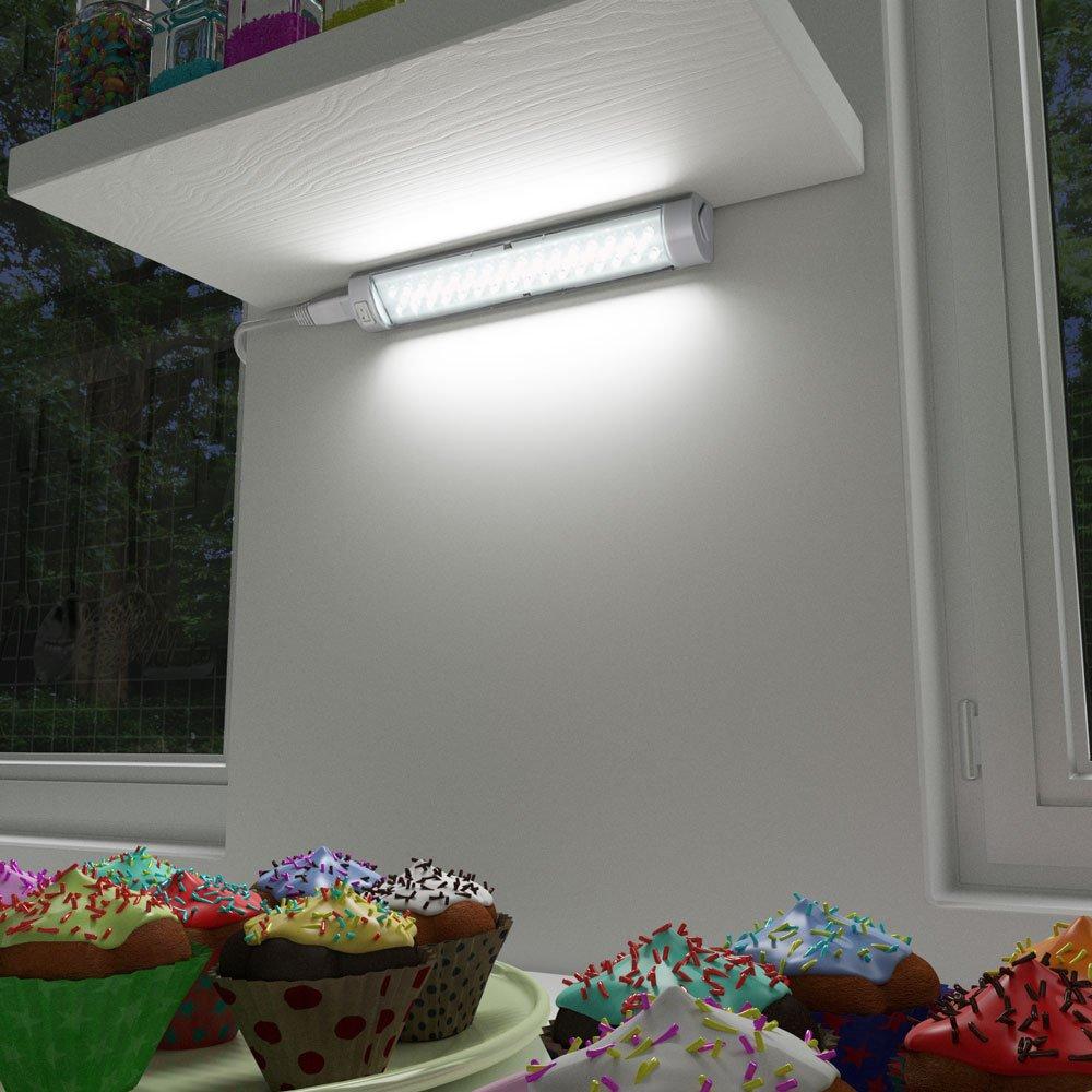 LED Unterbauleuchte, 250mm, 200lm, Kaltweiß: Amazon.de: Beleuchtung