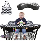 BabysDrive Shopping Cart Cover for Baby, with Cushion Included, High Chair Cover, Large Size, Loaded with Baby-Friendly…