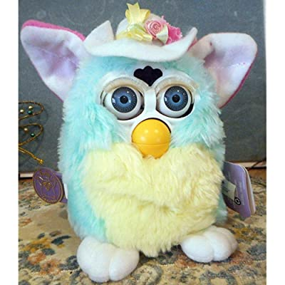 Furby Model 70-880 Spring Special Limited Edition Pastel Colors & Hat: Toys & Games