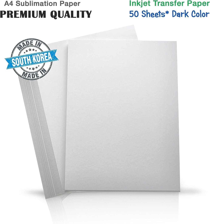 INKUTEN Premium de inyección de tinta papel de transferencia de ...