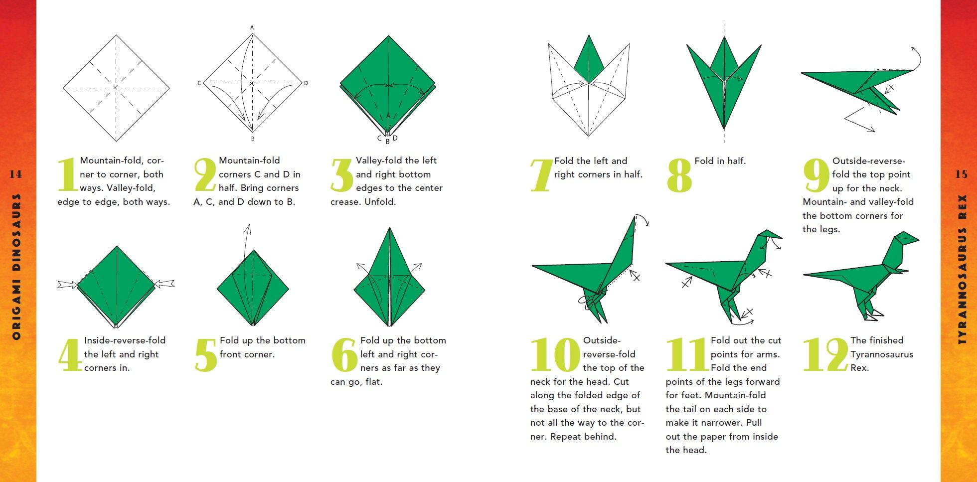 How To Make A Dinosaur Origami Jersey Tee | carters.com | 967x1960