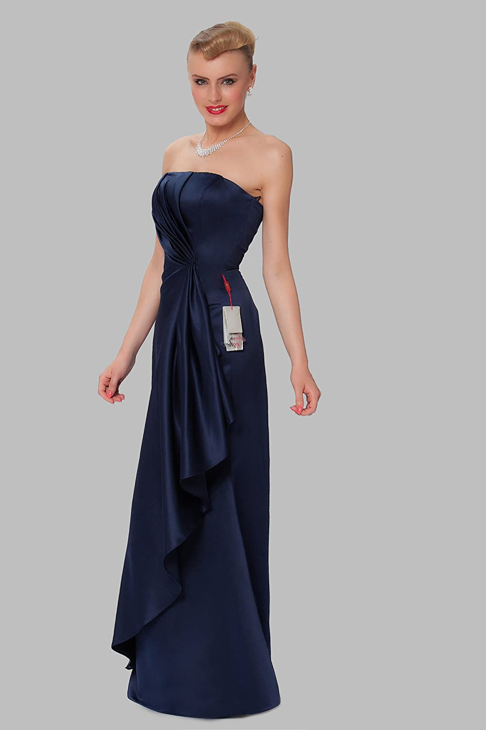 SEXYHER Gorgeous Full Length Strapless Bridesmaids Formal Evening Dress - EDJ1611