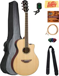 Amazon.com: Yamaha APX600 NA Thin Acoustic-Electric ... on