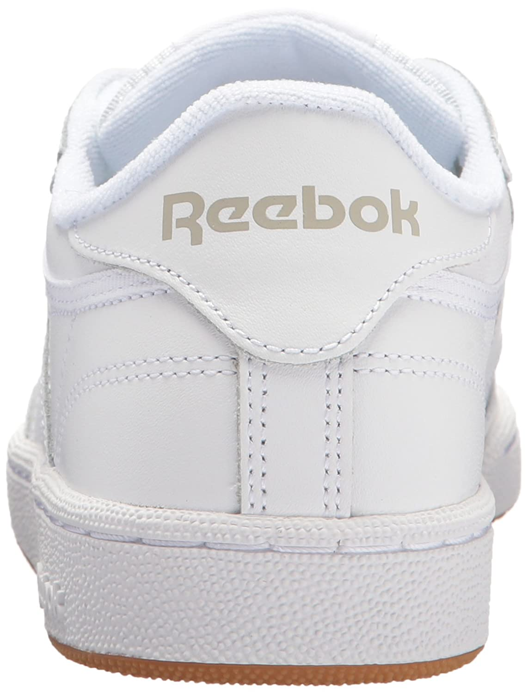 Reebok Women's Club C 85 Running Shoe B06XW9FNYW 11 B(M) US|White/Light Grey/Gum