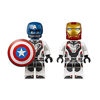 LEGO Super Heroes: Iron Man and Captain America in Quantum Suits - Infinity War: Toys & Games