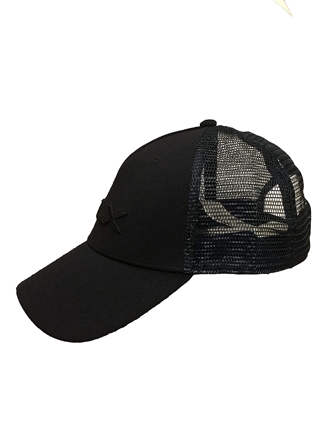 50a1c337f877d Amazon.com  Ralph Lauren Men`s RLX Golf Flex-Fit Mesh Performance Cap (Navy  Heather(8459)