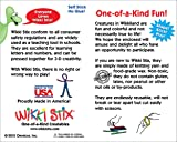 Wikki Stix 501 Sea Life Activity Pak, Pack of 12