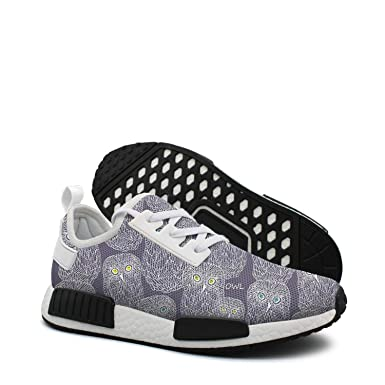 5db55a2141a6f Amazon.com: Doodle night owl athletic running shoes women nmd color ...