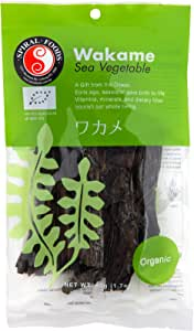 Spiral Foods Organic Wakame Sea Vegetable 50 g