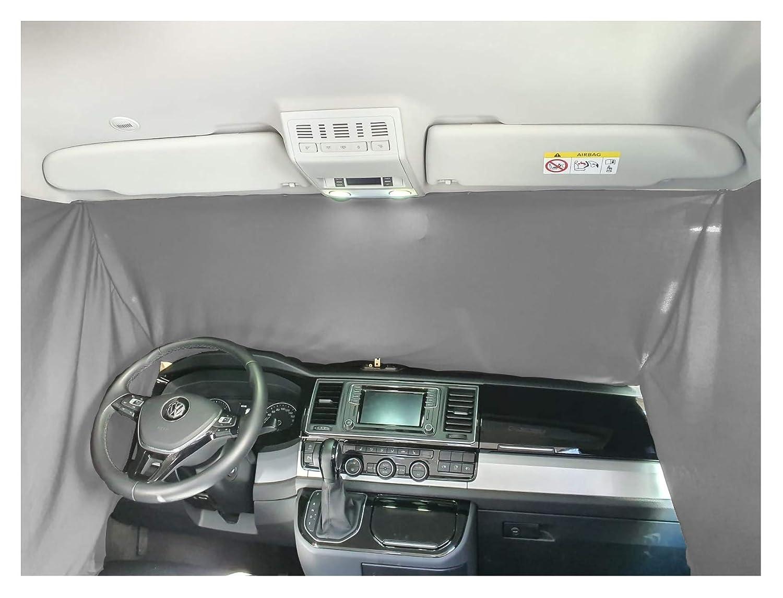 Frontscheibe Sonnenschutz Camping F/ührerhaus Gardinen Vorhang kompatibel mit VW Caddy 4 ab 2015 FB F/_SW